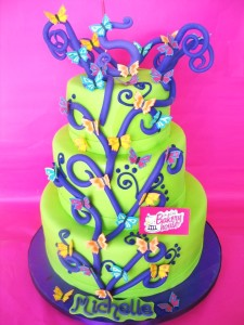TLBH 5 años mariposas cumpleaños