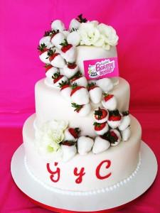 TLBH boda fresas y flores