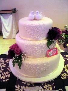 TLBH boda rosas y decorado glasé